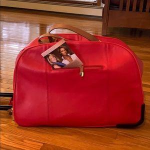 Handbags - Leather NWOT Travel Bag!